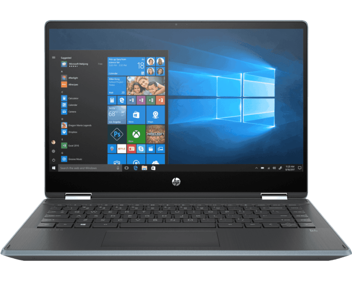 Laptop HP Pavilion x360 Convertible 14-dh0030la