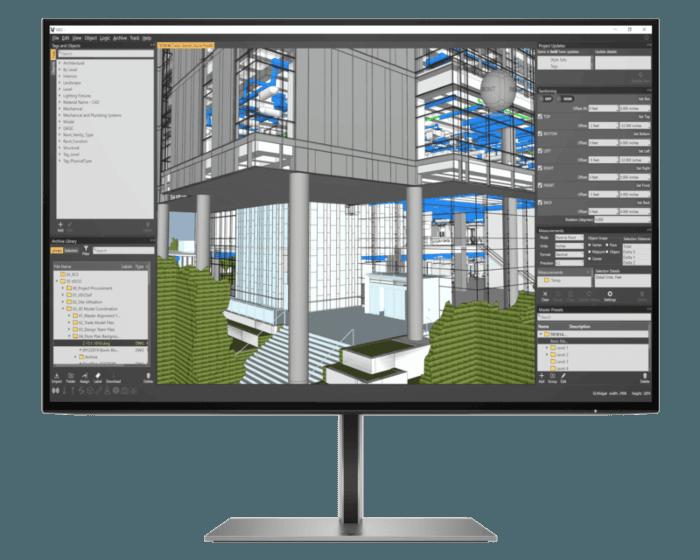 Monitor HP Z24n G3 WUXGA de 24