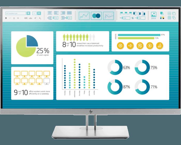 Monitor HP EliteDisplay E273 de 27