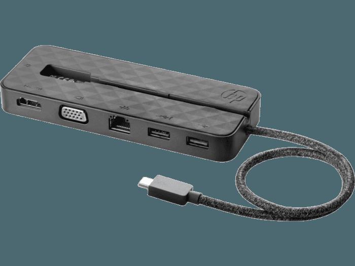 Estación de acoplamiento mini HP USB-C