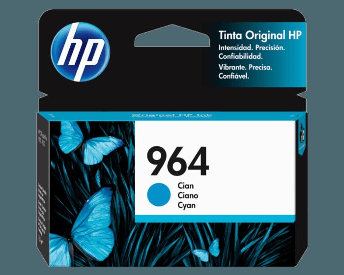 Cartucho de Tinta HP 964 Cian Original