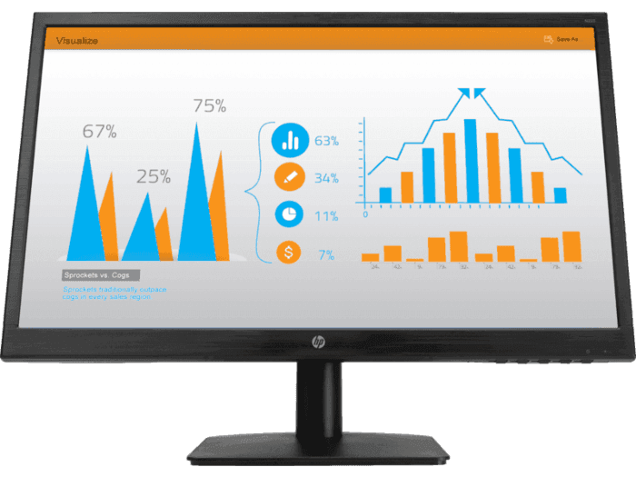 Monitor HP N223 de 21,5