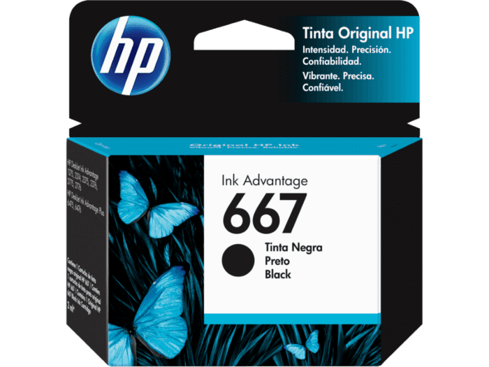 Cartucho de Tinta HP 667 Negro Ink Advantage Original