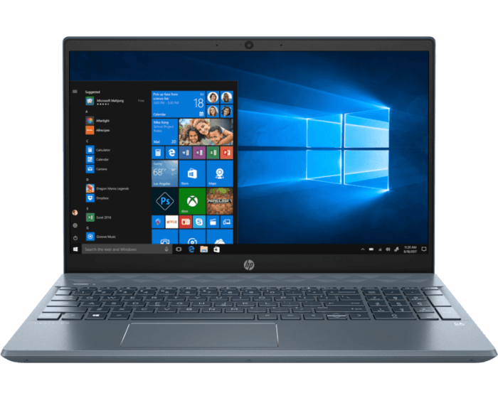 Laptop HP Pavilion 15-cw1008la