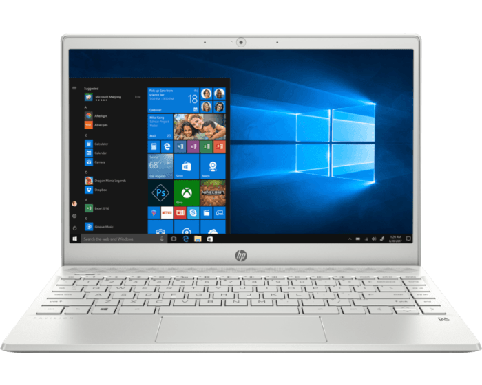 Laptop HP Pavilion 13-an0007la
