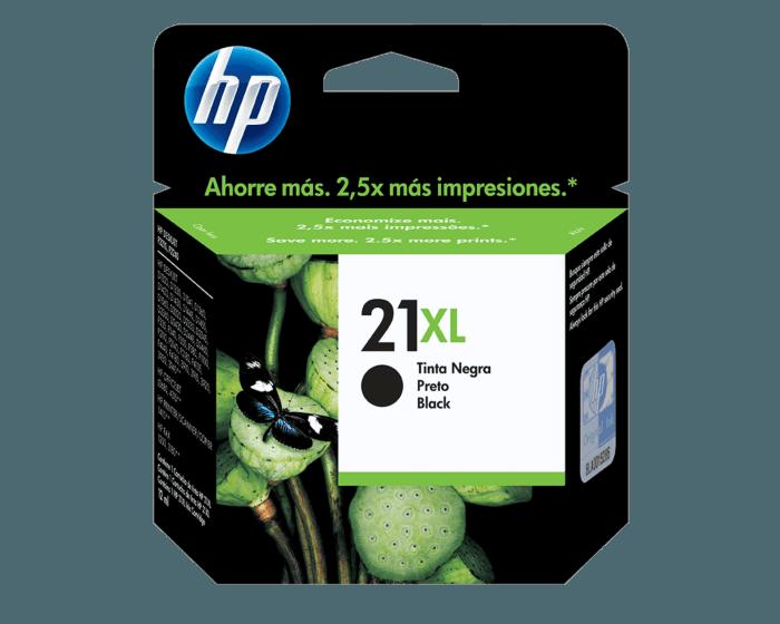 Cartucho de Tinta HP 21XL Negra Original