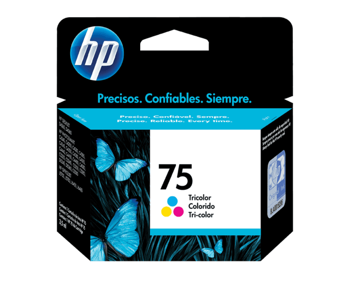 Cartucho de Tinta HP 75 Tricolor Original