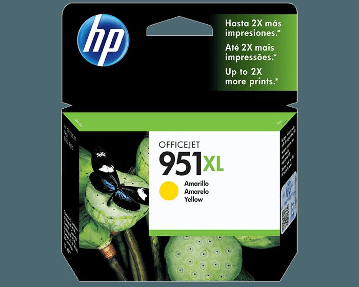 Cartucho de Tinta HP 951XL Amarilla Original