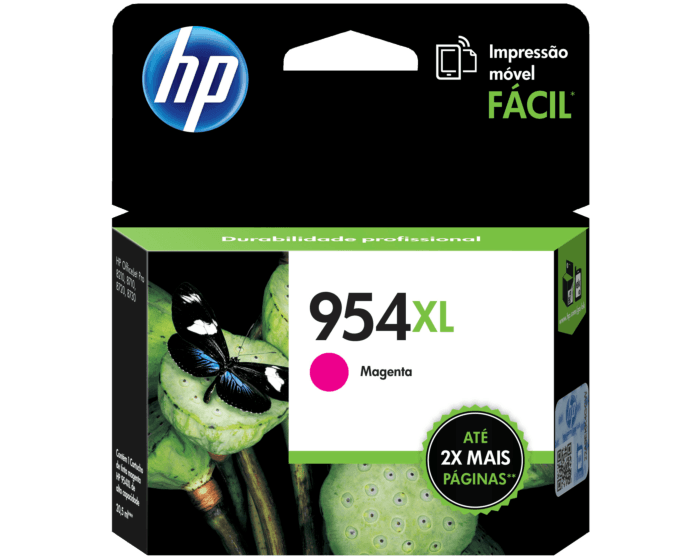 Cartucho de Tinta HP 954XL Magenta Original