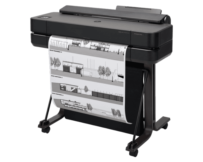 Impresora HP DesignJet T650 de 24 pulgadas