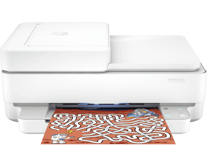Impresora Multifuncional HP Deskjet Plus Ink Advantage 6475