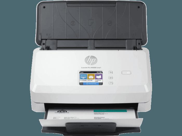 Escáner HP ScanJet Pro N4000 snw1
