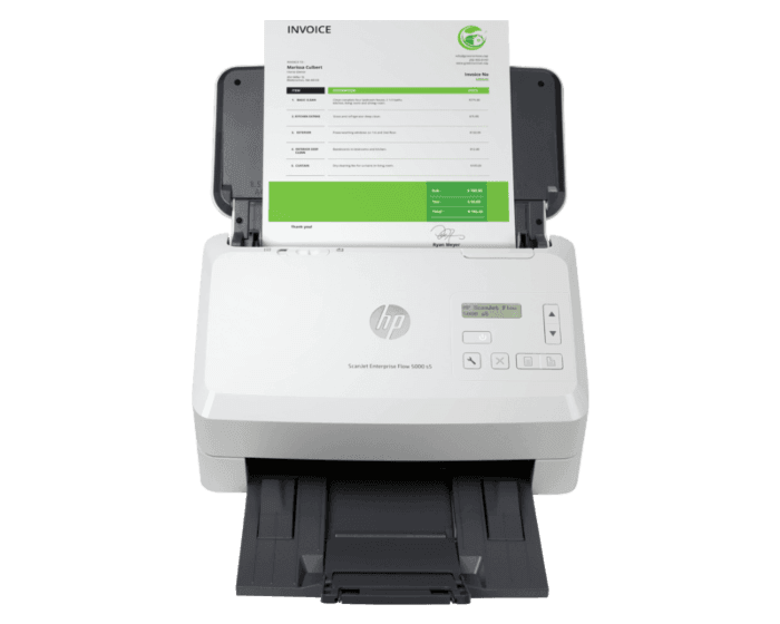 Escáner HP ScanJet Enterprise Flow 5000 s5