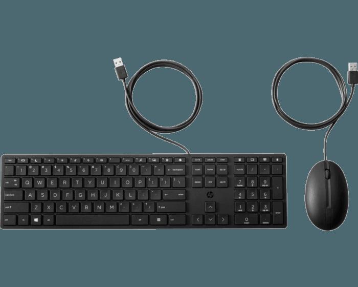 Teclado y Mouse HP320MK