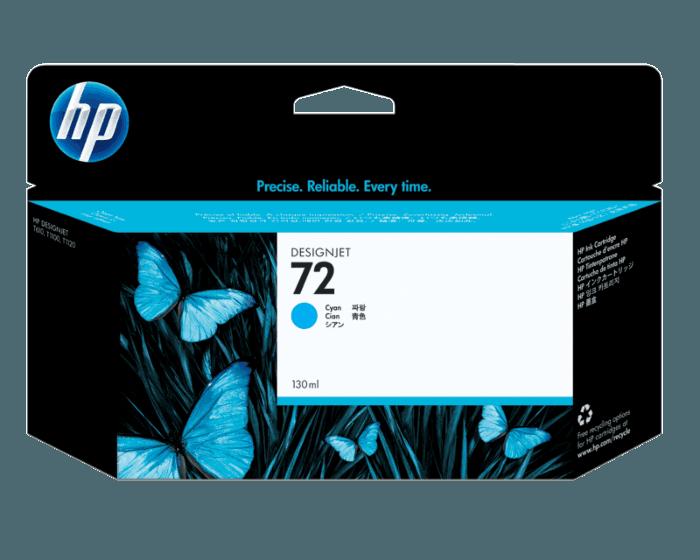 Cartucho de Tinta HP 72 Cian DesignJet Original