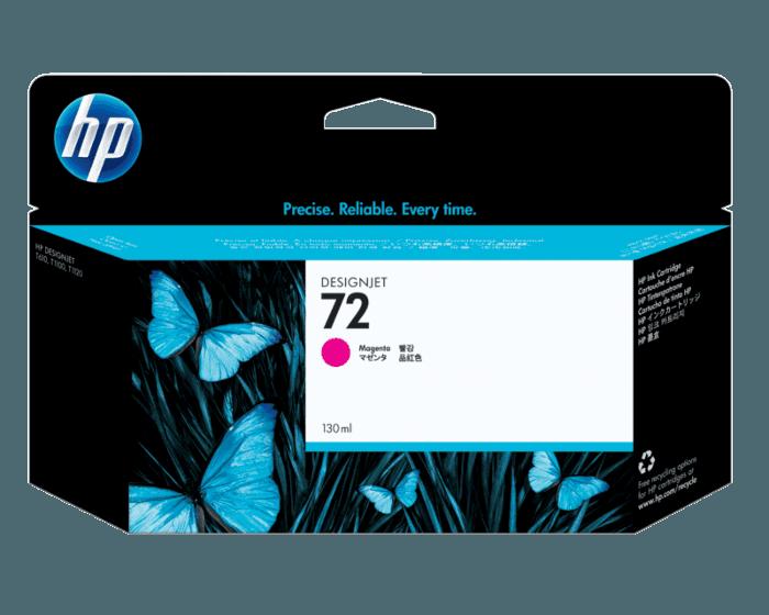 Cartucho de Tinta HP 72 Magenta DesignJet Original