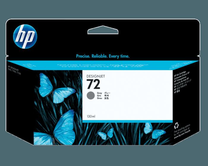 Cartucho de Tinta HP 72 Gris DesignJet Original