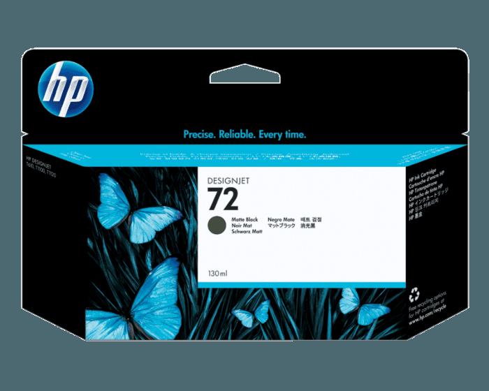 Cartucho de Tinta HP 72 Negro Mate DesignJet Original