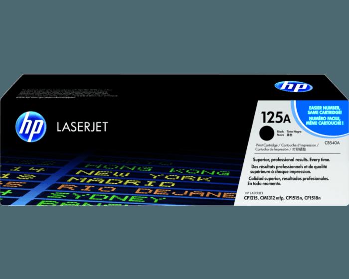 Cartucho de Tóner HP 125A Negro LaserJet Original