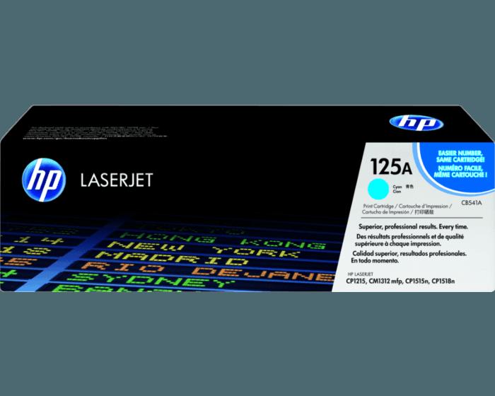 Cartucho de Tóner HP 125A Cian LaserJet Original