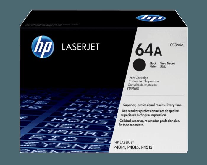Cartucho de Tóner HP 64X Negro Alto Rendimiento LaserJet Original