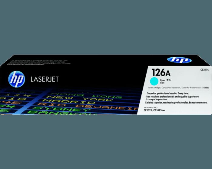Cartucho de Tóner HP 126A Cian LaserJet Original