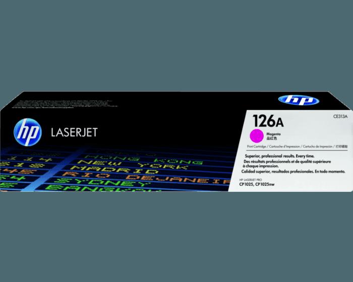 Cartucho de Tóner HP 126A Magenta LaserJet Original