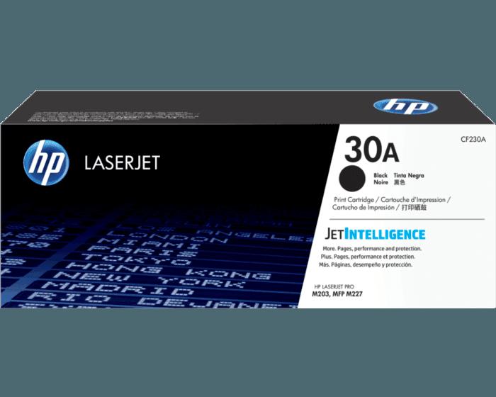 Cartucho de Tóner HP 30A Negro LaserJet Original