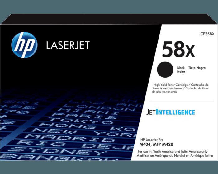 Cartucho de Tóner HP 58X Negro Alto Rendimiento LaserJet Original