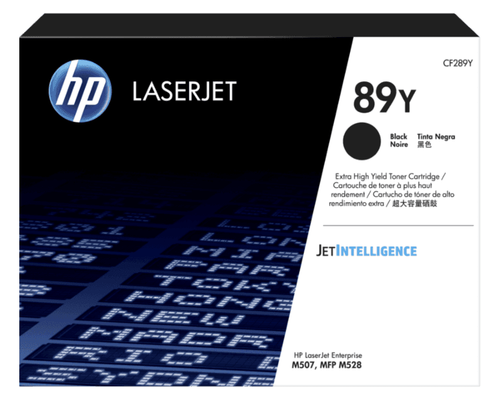 Cartucho de Tóner HP 89Y Negro LaserJet de Extra Alto Rendimiento Original