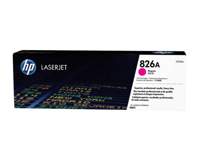 Cartucho de Tóner HP 826A Magenta Alto Rendimiento LaserJet Original