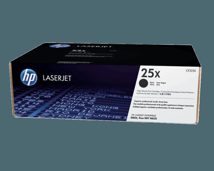 Cartucho de Tóner HP 25X Negro Alto Rendimiento LaserJet Original