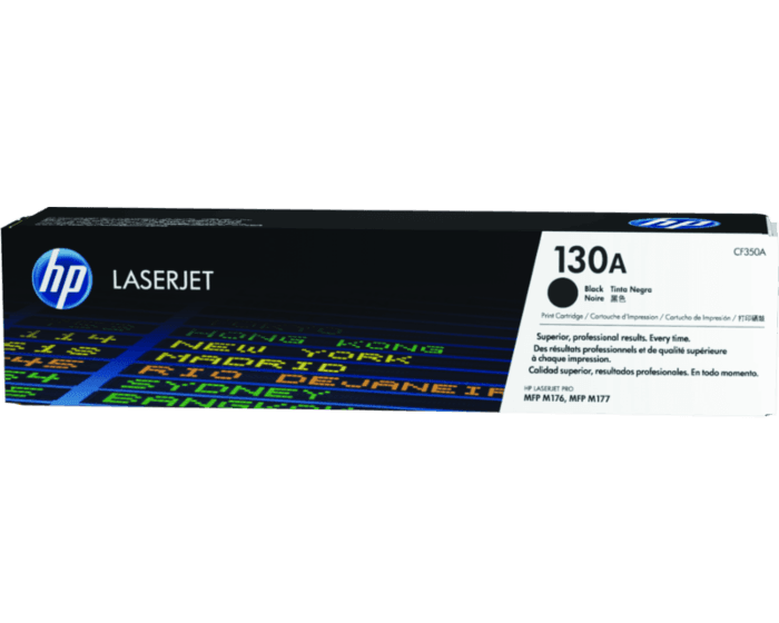 Cartucho de Tóner HP 130A Negro LaserJet Original