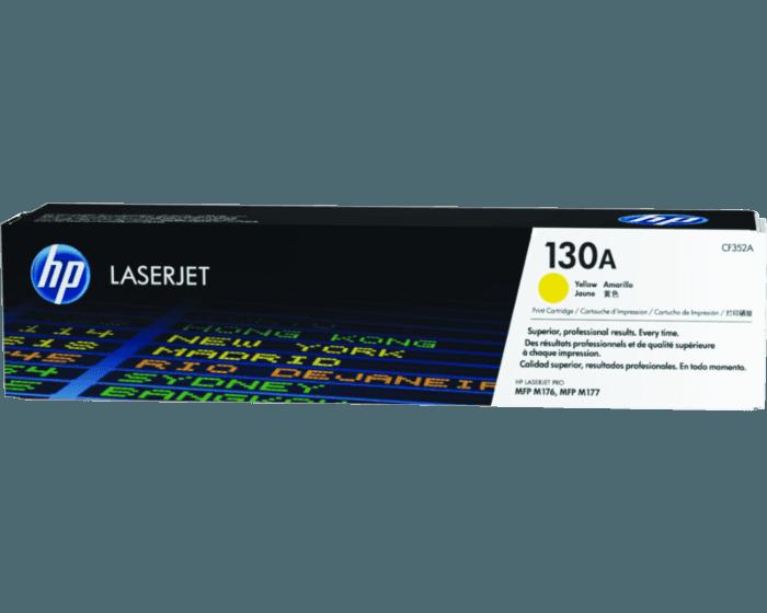 Cartucho de Tóner HP 130A Amarillo LaserJet Original