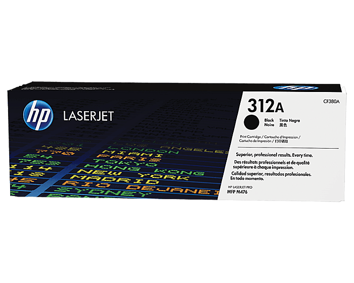 Cartucho de Tóner HP 312A Negro LaserJet Original