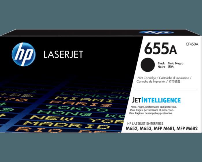 Cartucho de Tóner HP 655A Negro LaserJet Original