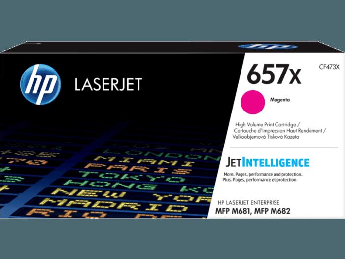 Cartucho de Tóner HP 657X Magenta Alto Rendimiento LaserJet Original