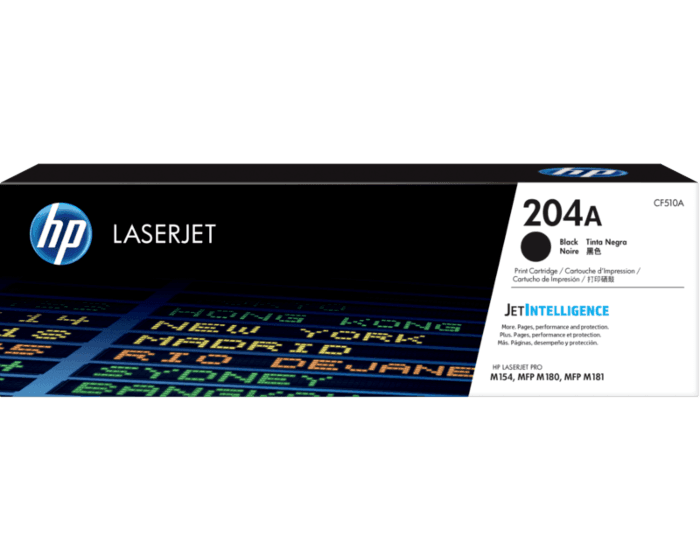 Cartucho de Tóner HP 204A Negro LaserJet Original