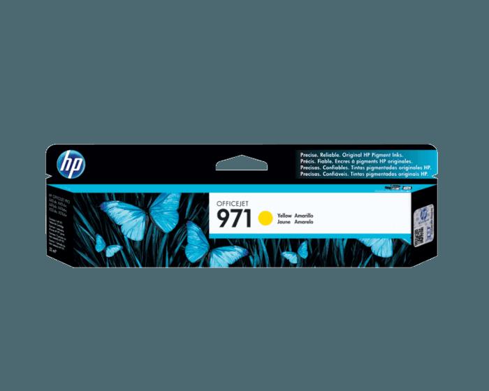 Cartucho de Tinta HP 971 Amarilla Original