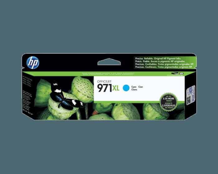 Cartucho de Tinta HP 971XL Cian Original