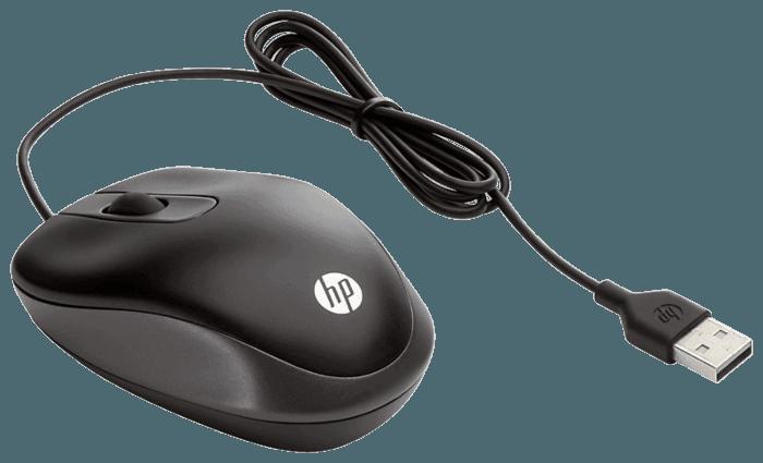 Mouse Optico Scroll HP USB