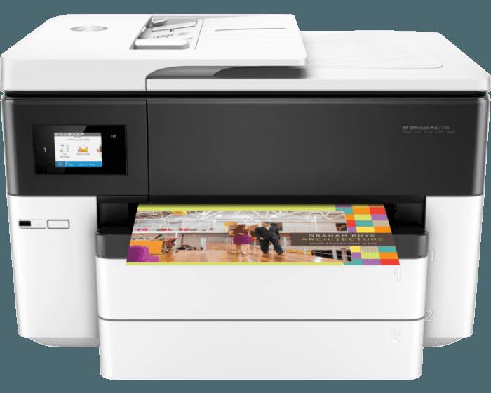 Impresora Multifunción HP OfficeJet 7740 Wide Format