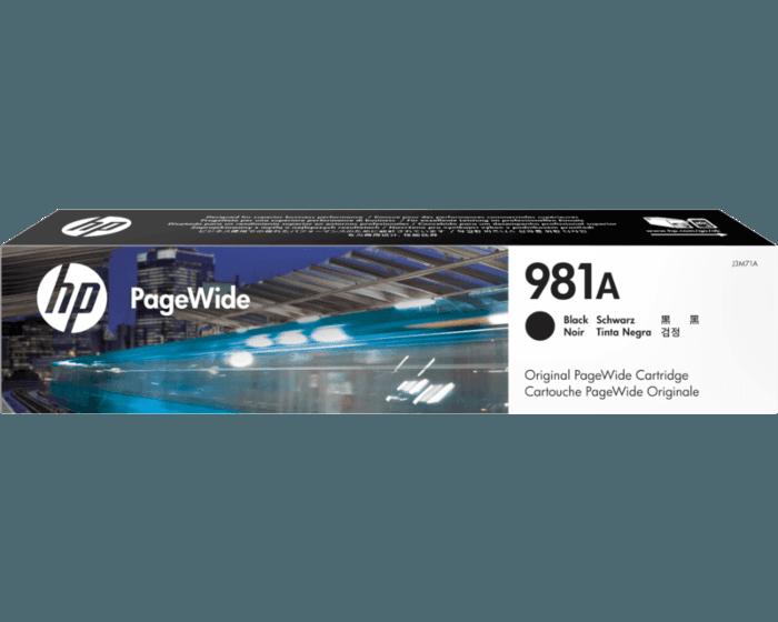 Cartucho de Tinta HP 981A Negra Pagewide Original