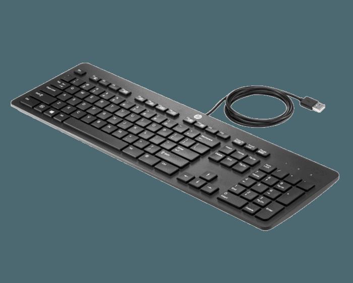 Teclado HP Empresarial Delgado USB