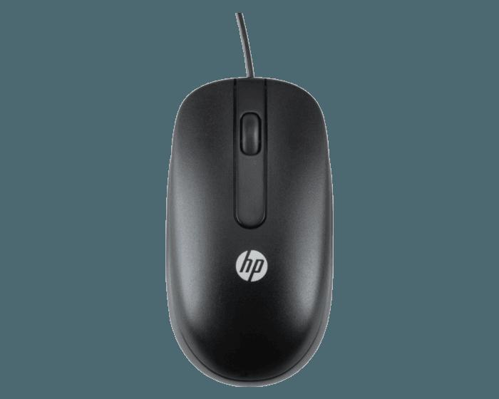 Mouse HP Óptico USB con Rueda de Desplazamiento