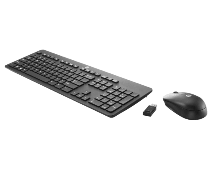 Teclado y Mouse HP Inalámbricos