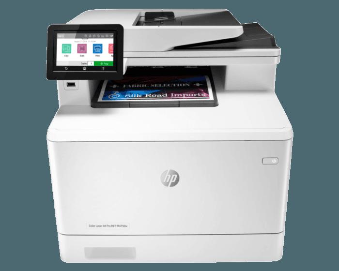 Impresora Multifuncional HP LaserJet Pro  M479dw