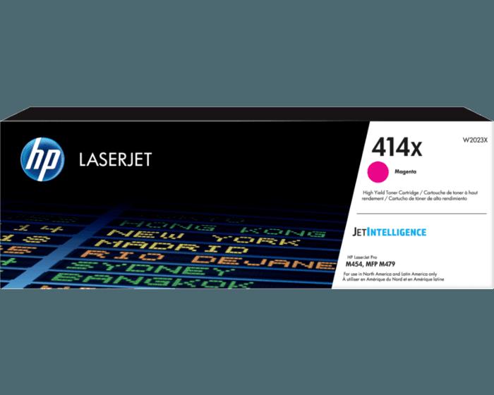 Cartucho de Tóner HP 414X Magenta Alto Rendimiento LaserJet  Original