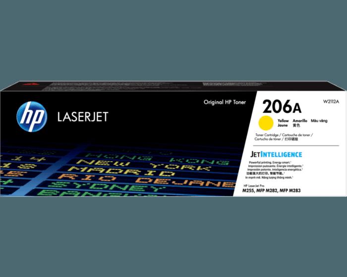 Cartucho de Tóner HP 206A Amarillo LaserJet Original