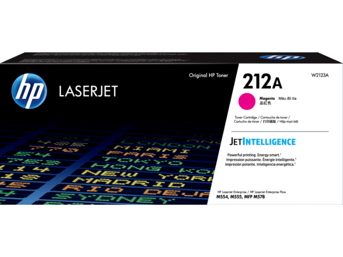 Cartucho de Tóner HP 212A Magenta LaserJet Original